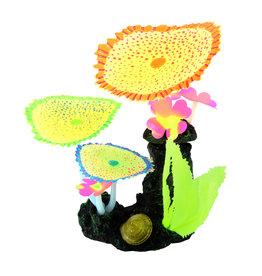 UNDERWATER TREASURES (W) UT Glow Action Bubbling Carpet Coral Garden - Yellow