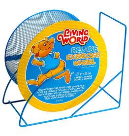 LIVING WORLD (W) LW Wire-Mesh Hamster Wheel 9. blue-V