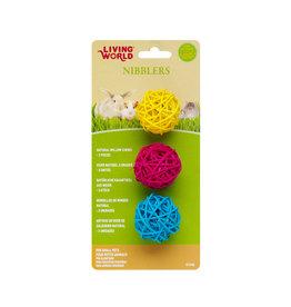 LIVING WORLD LW Nibblers - Willow Chews - Balls-V