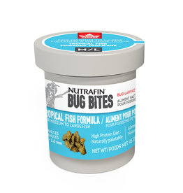 NUTRAFIN Nutrafin Bug Bites Tropical Medium-Large 1.4-1.6mm granules for Angels/Large Gouramis