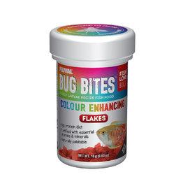 FLUVAL Fluval Bug Bites Color Enhancing Flakes, 18 g