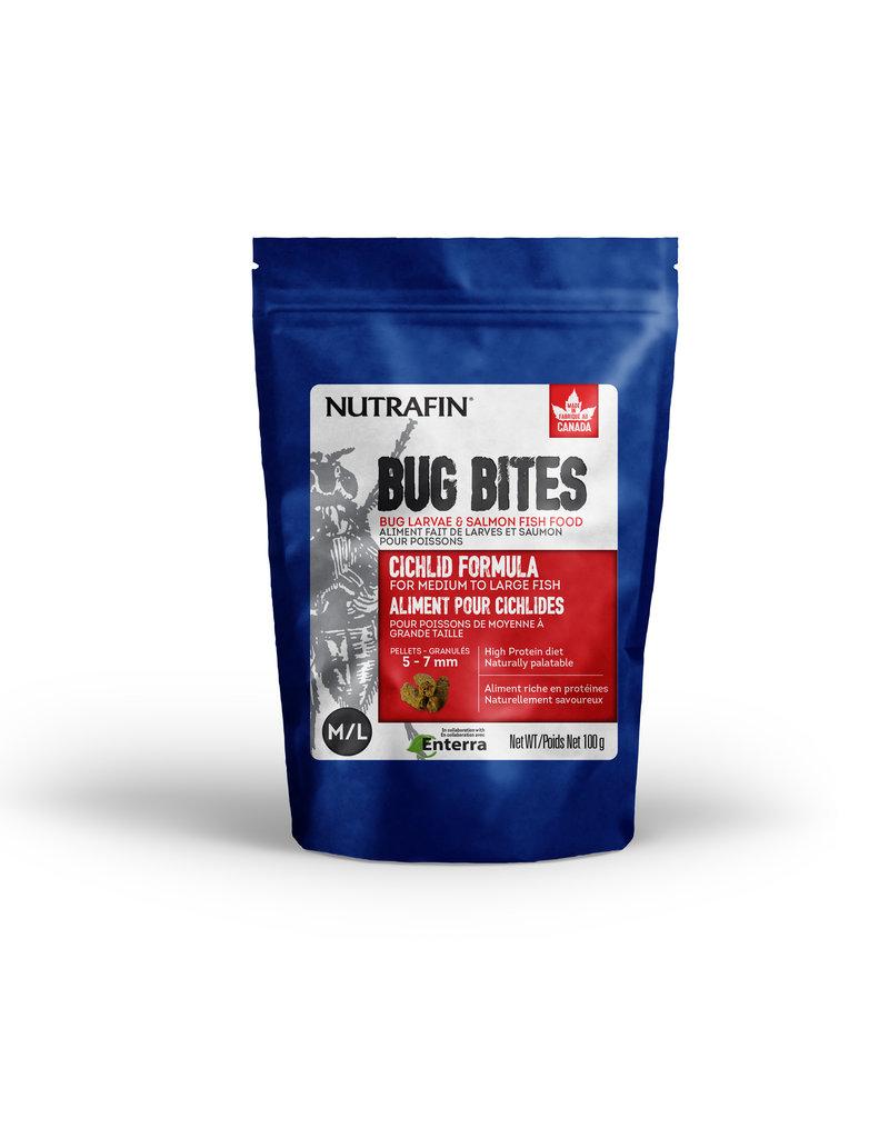 NUTRAFIN Nutrafin Bug Bites Cichlid Medium-Large 5-7mm Sticks for Large Cichlids
