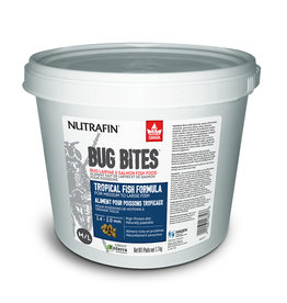 NUTRAFIN (W) Nutrafin Bug Bites Tropical Formula  Medium to Large Fish - 1.4 - 2.0 mm granules, 1.7 kg (3.7 lbs)