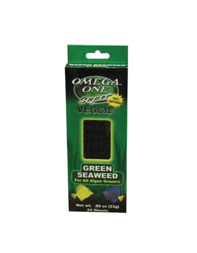 OMEGA ONE OE MARINE ALGAE-GREEN 24 SHEET