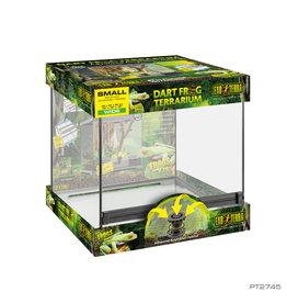 EXO TERRA Exo Terra Dart Frog Terrarium - Advanced Amphibian Habitat - Small/Wide - 18 x 18 x 18 in