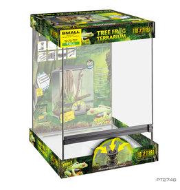 EXO TERRA Exo Terra Tree Frog Terrarium - Advanced Amphibian Habitat - Small/Tall - 18 x 18 x 24 in