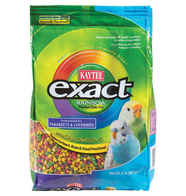 KAYTEE Kaytee Exact Rainbow Daily Diet for Parakeets & Lovebirds - 2 lb
