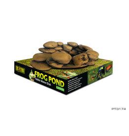 EXO TERRA Exo Terra Frog Pond - Large - 15 L x 12,5 W x 5,5 H cm (6 x 5 x 2.2 in) – capacity 110 mL