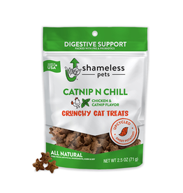 SHAMLESS PETS Shameless Pets Crunchy Cat Treats 71g - Catnip N Chill