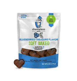 SHAMLESS PETS (W) Shameless Pets Soft-Baked Biscuit 170g - Blueberried Treasure