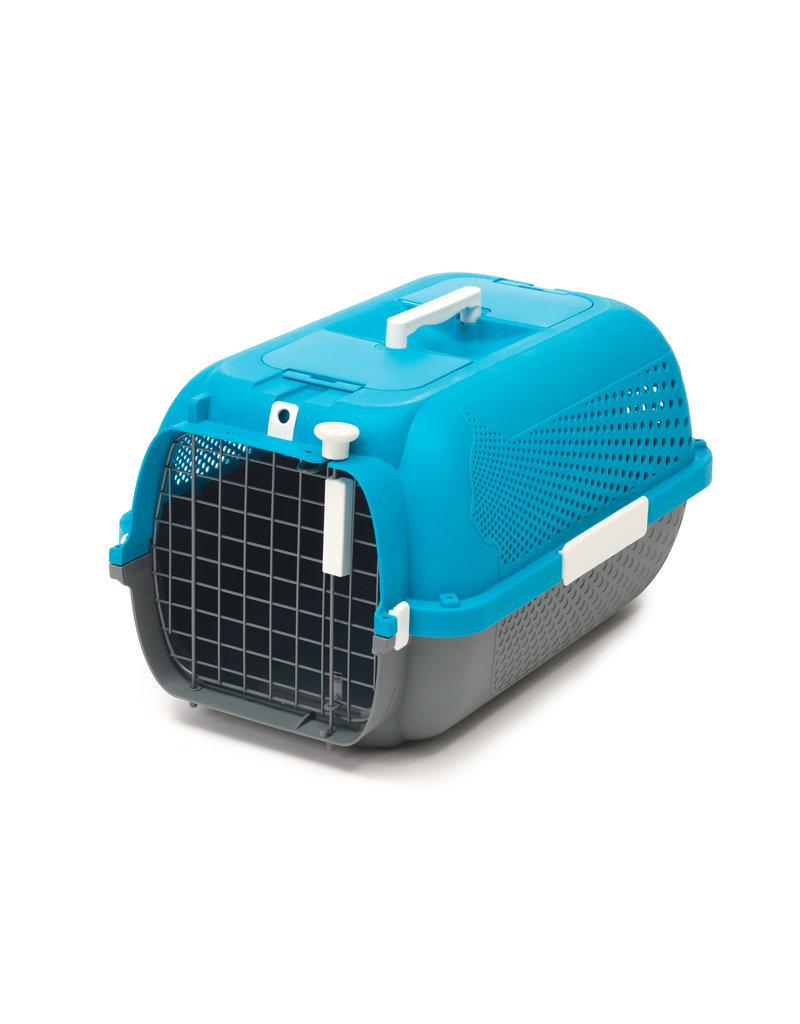 CAT IT Catit Cat Carrier - Medium - Turquoise - 56.5 L x 37.6 W x 30.8 H cm (22 x 14.8 x 12 in)