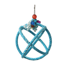 HARI HARI SMART.PLAY Enrichment Parrot Toy - Roper Orbiter Perch n Swing - Small