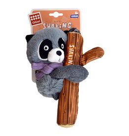 GIGWI Gigwi Raccoon Plush with Squeaker