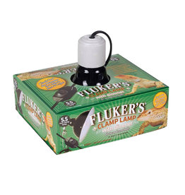 """FLUKER'S Fluker's Clamp Lamp with Dimmer - 5.5"""""""