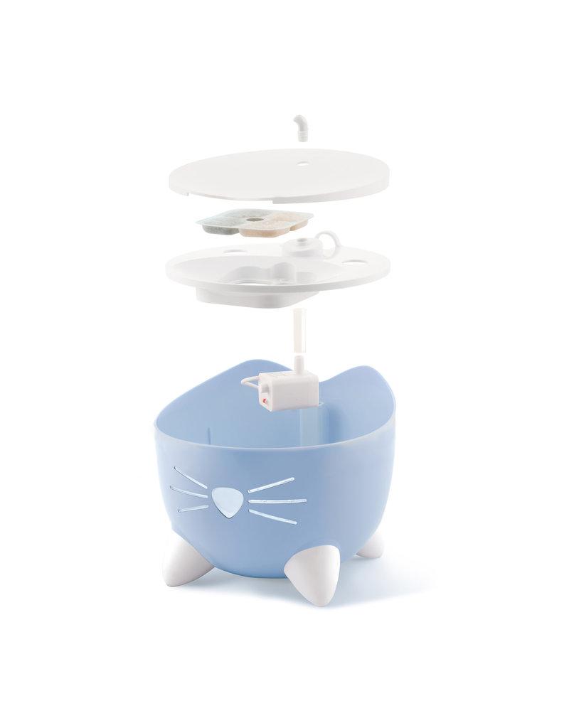 CAT IT Catit PIXI Fountain - Light Blue - 2.5 L