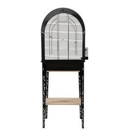 ZOLUX Zolux Chic Patio Cage & Stand - Large - Black - 53 x 33 x 74 cm