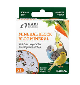 HARI HARI Mineral Block for Small Birds - Dried Vegetables - 40 g - 1 pack