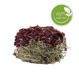 LIVING WORLD Living World Green Botanicals Hay Cake - Beet - 75 g (2.6 oz)
