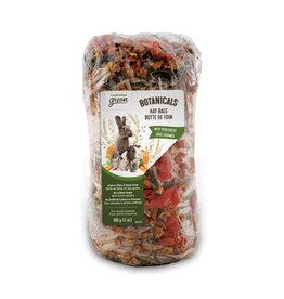 LIVING WORLD Living World Green Botanicals Hay Bale - Vegetables - 200 g (7 oz)
