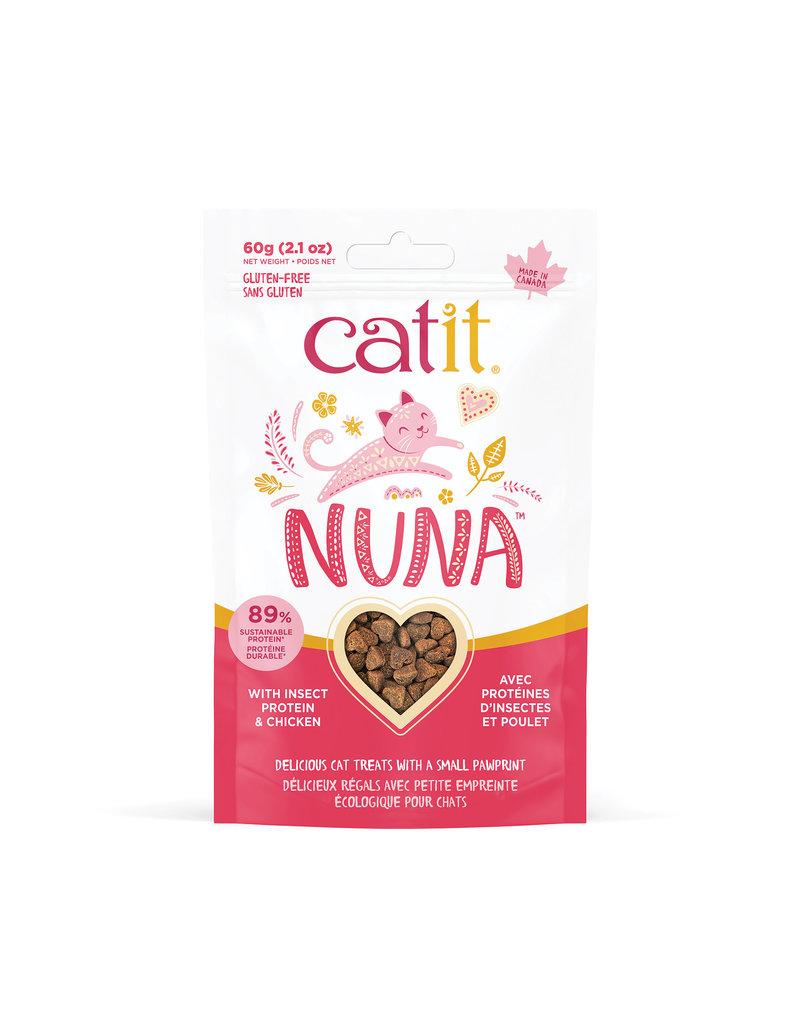 CAT IT Catit Nuna Treats - Insect Protein & Chicken - 60 g