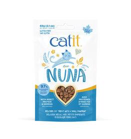 CAT IT Catit Nuna Treats - Insect Protein & Herring - 60 g