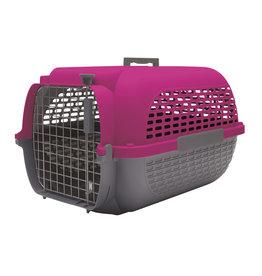 DOG IT Dogit Voyageur Dog Carrier - Fuchsia/Charcoal - Medium - 56.5 cm L x 37.6 cm W x 30.8 cm H (22 in x 14.8 in x 12 in)