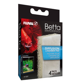 FLUVAL Fluval Betta Diffusion Chamber Pad - 4 pack