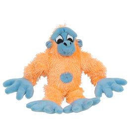 DOG IT Dogit inPuppy Luvzin Plush Dog Toy with Squeaker, Orange Gorilla
