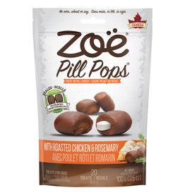 ZOE Zoë Pill Pops - Roasted Chicken with Rosemary - 100 g (3.5 oz)