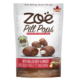 ZOE Zoë Pill Pops - Grilled Beef with Ginger - 100 g (3.5 oz)