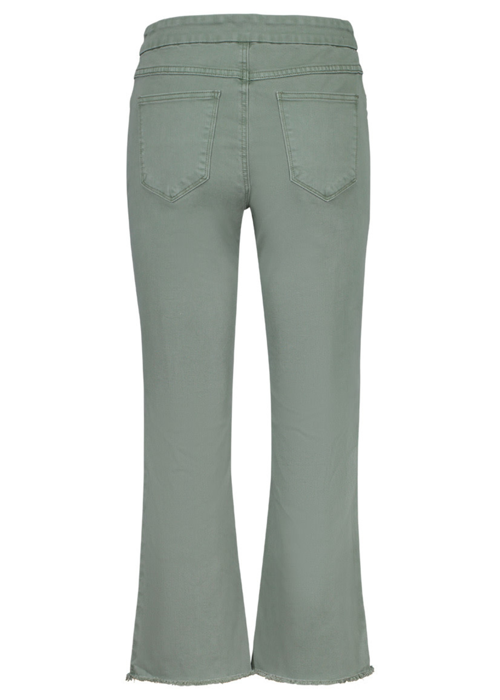Tribal Tribal Audrey Jeans Pull On Straight Crop