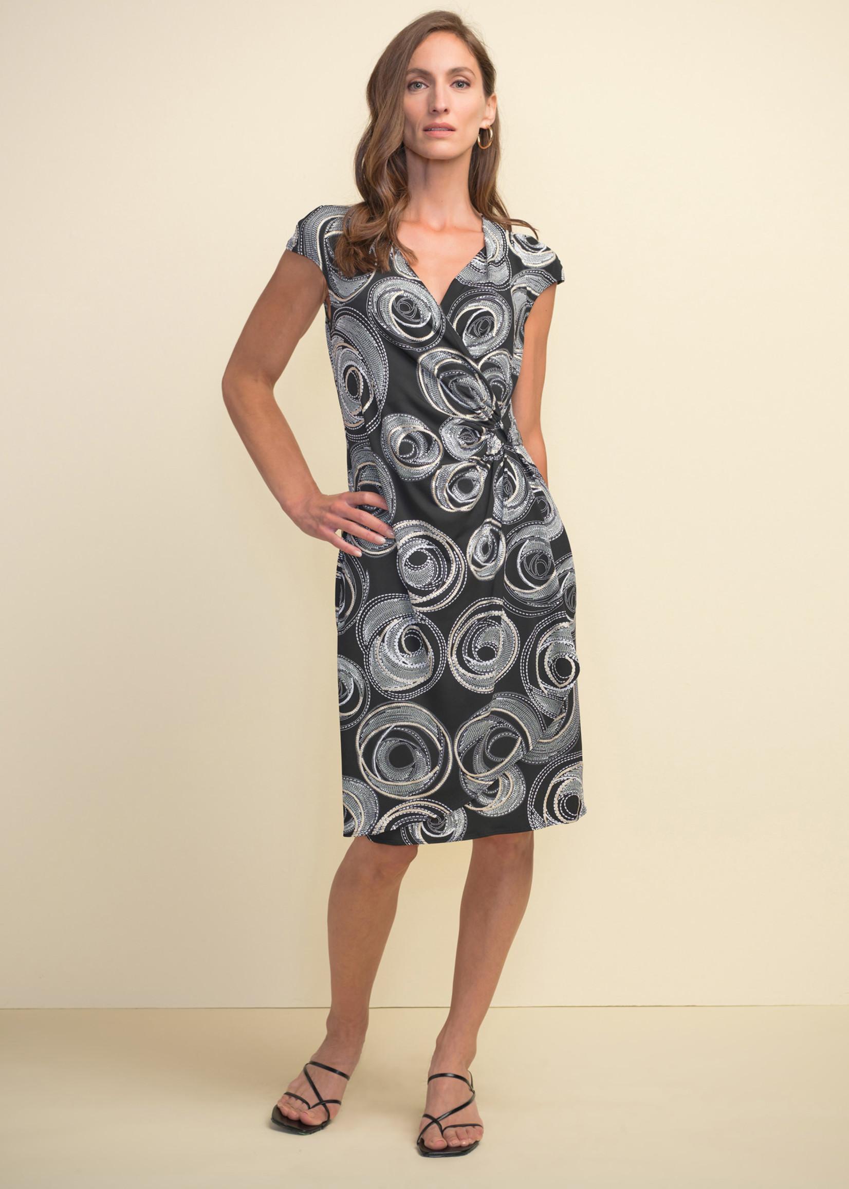 Joseph Ribkoff Joseph Ribkoff Circle Motif Dress