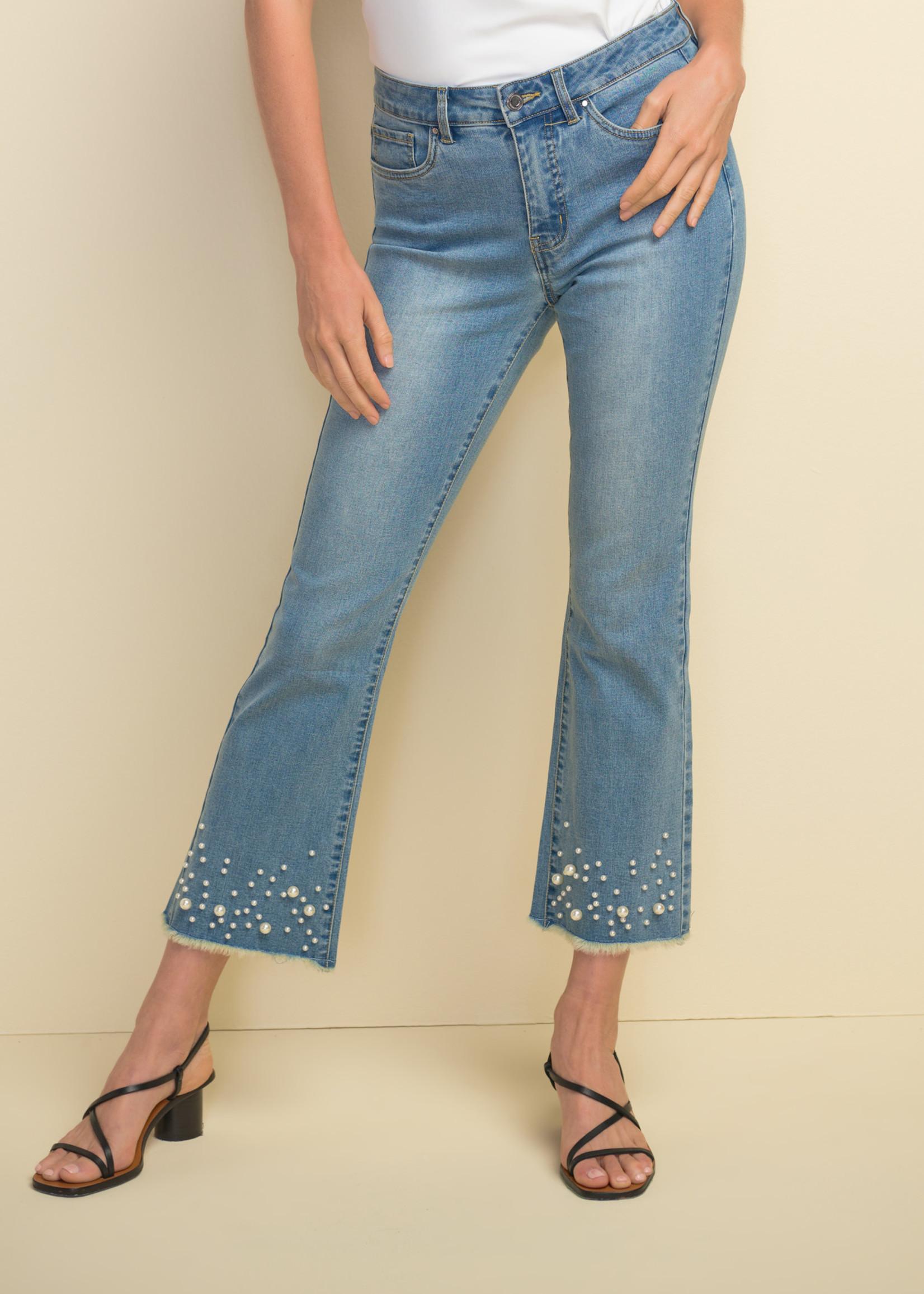 Joseph Ribkoff Joseph Ribkoff Pearl Detail Jeans