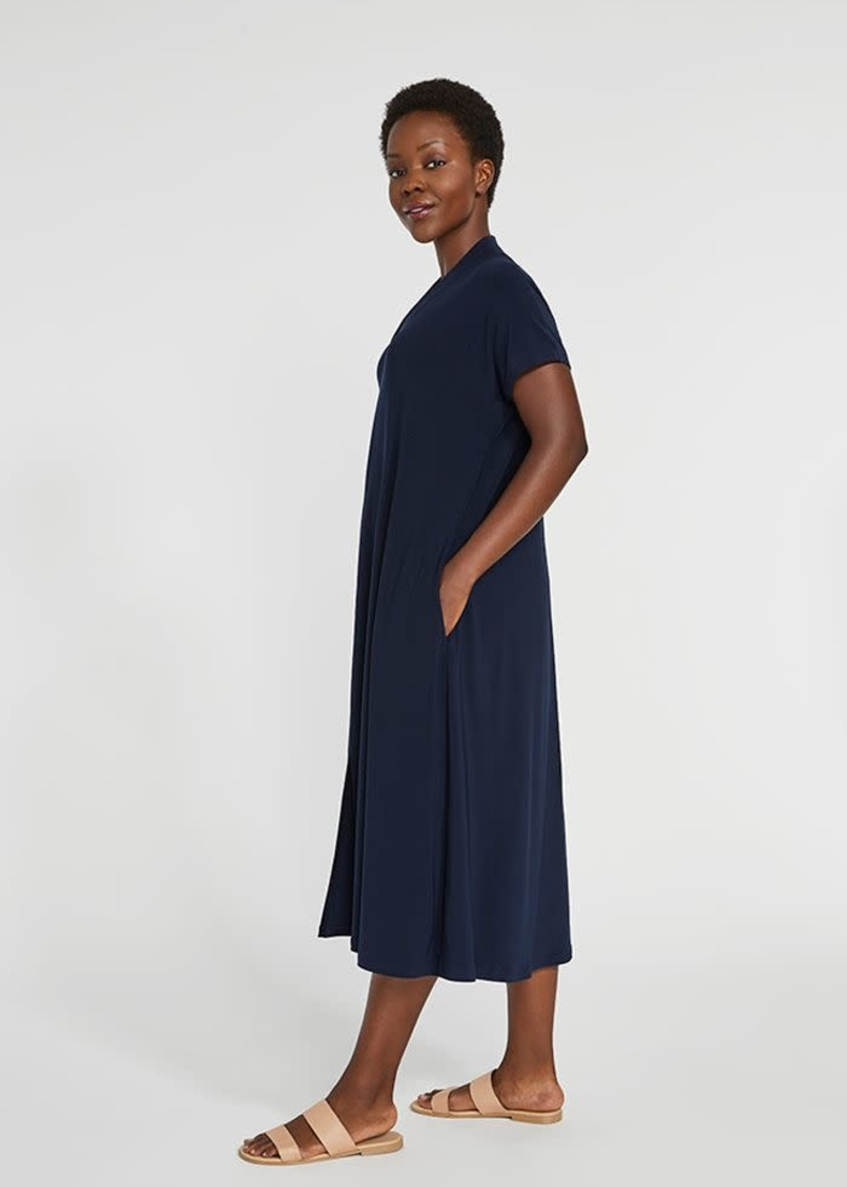 Sympli Sympli Deep V Dress