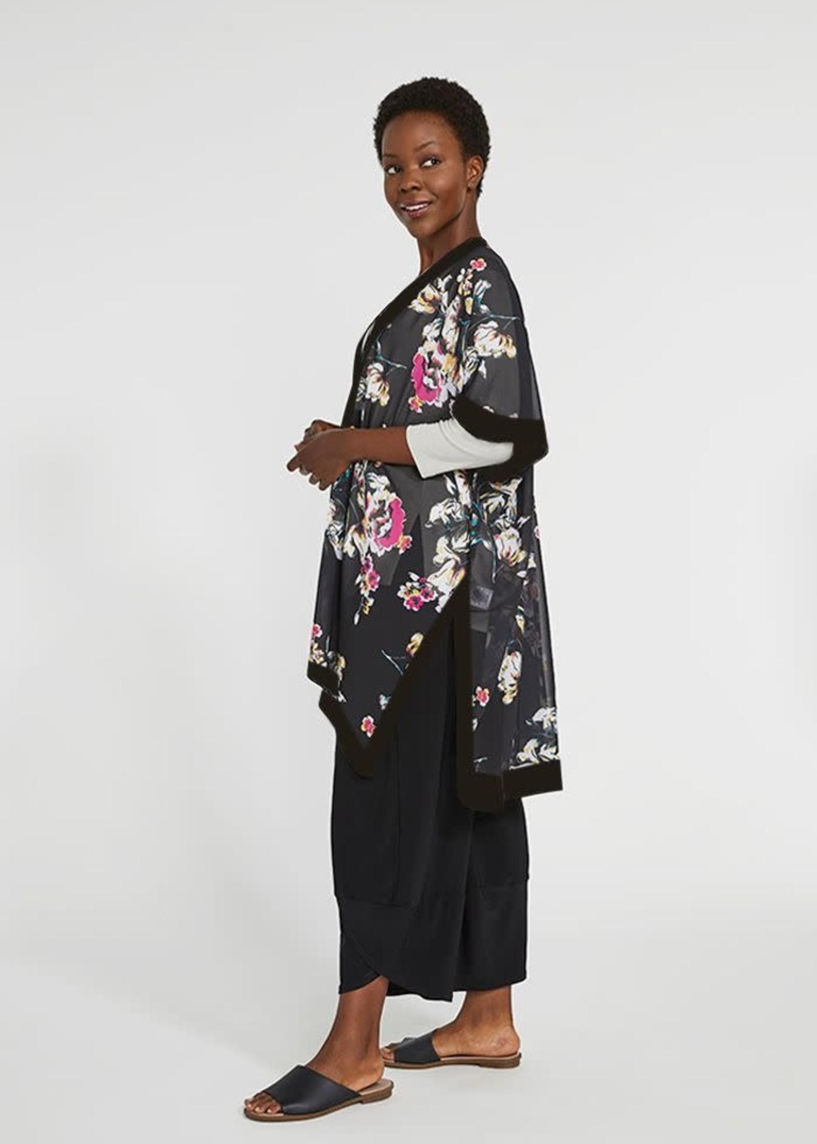 Sympli Sympli Short Kimono Floral Whisper