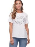 FDJ French Dressing FDJ T-shirt W/Heart Graffiti Print