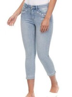 FDJ French Dressing FDJ Olivia Crop Jeans with Daisy Details