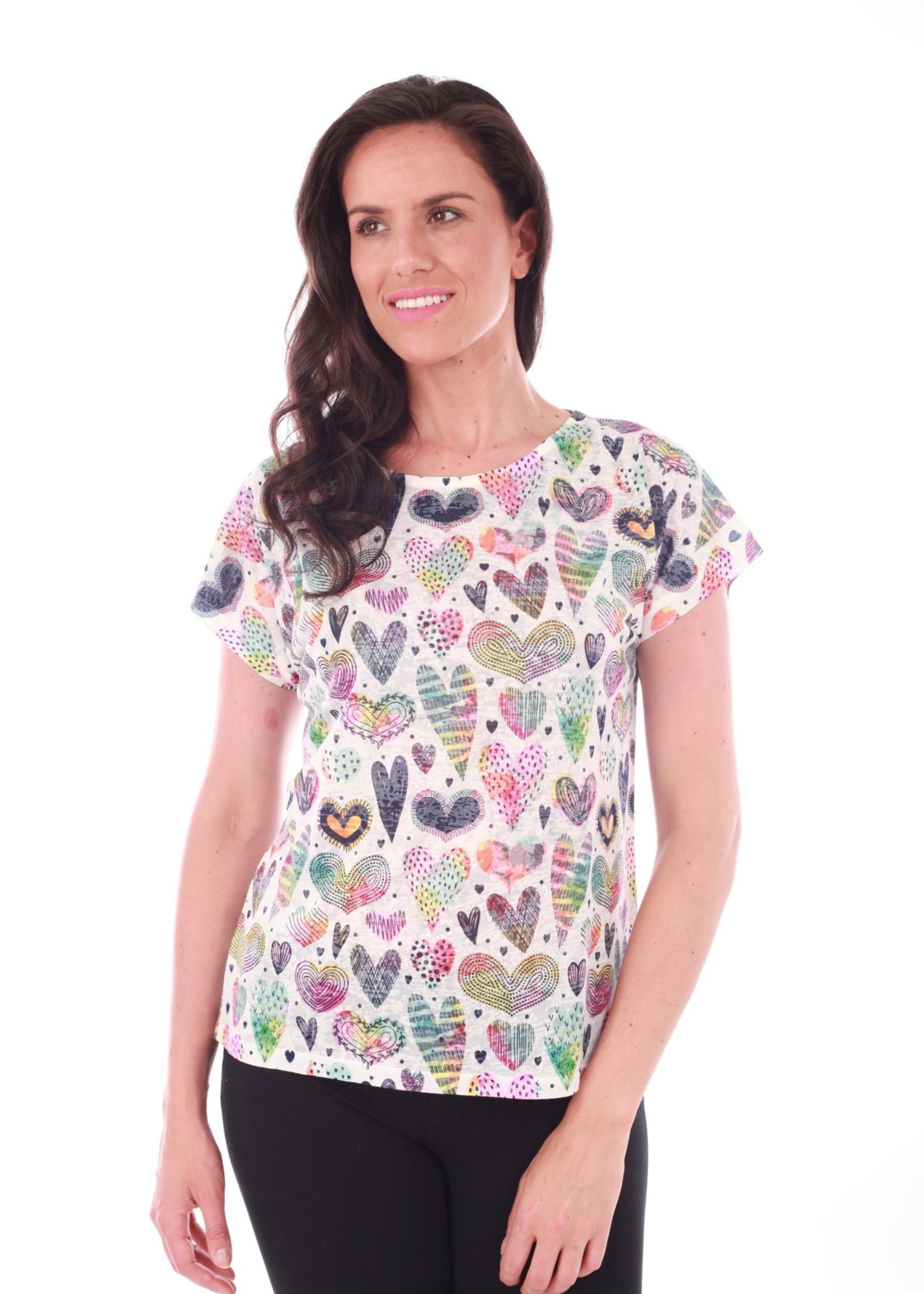 Fresh FX Fresh FX S/S Heart T-shirt