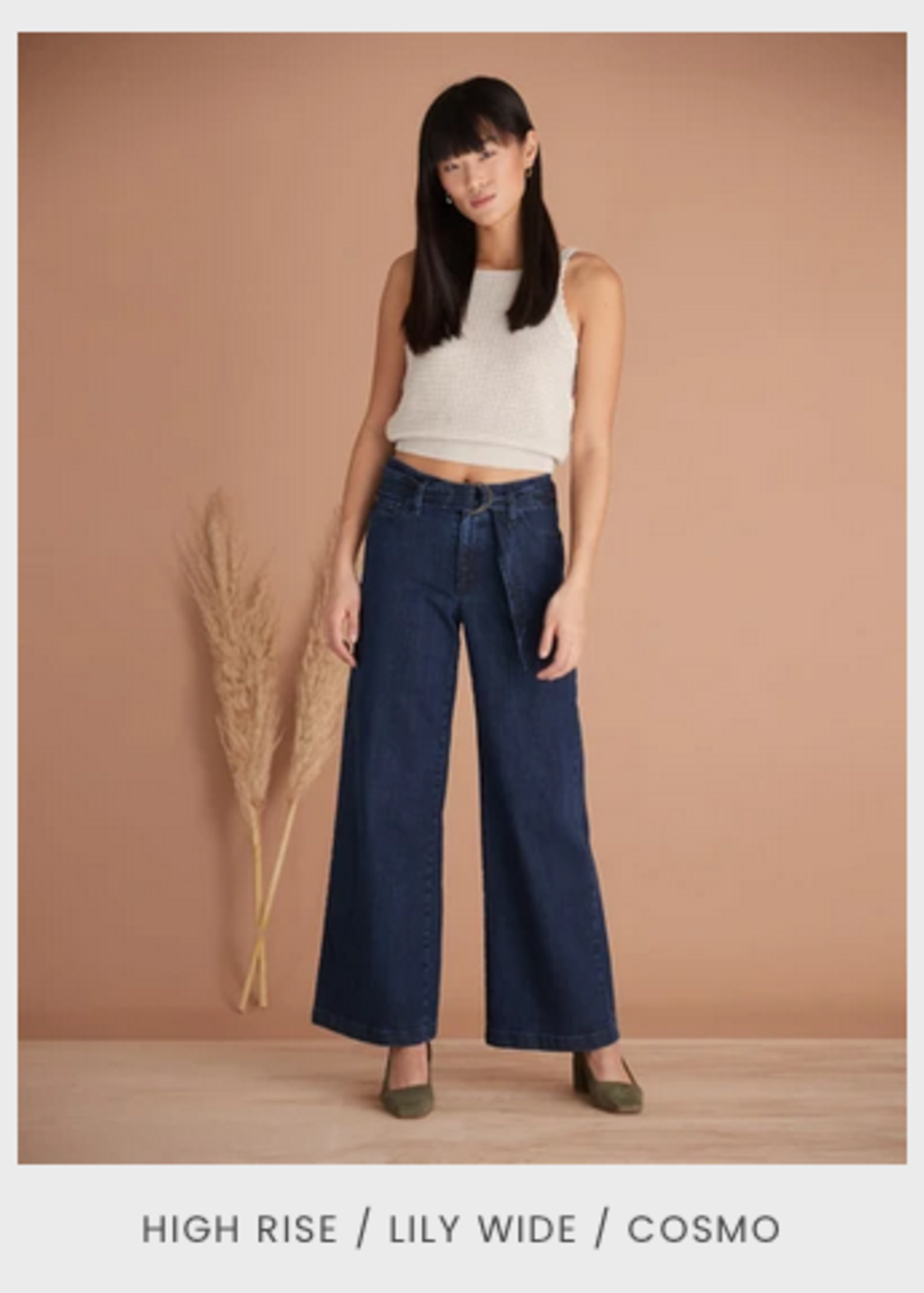 Yoga Jeans Yoga Jeans Lily High Rise Wide Leg