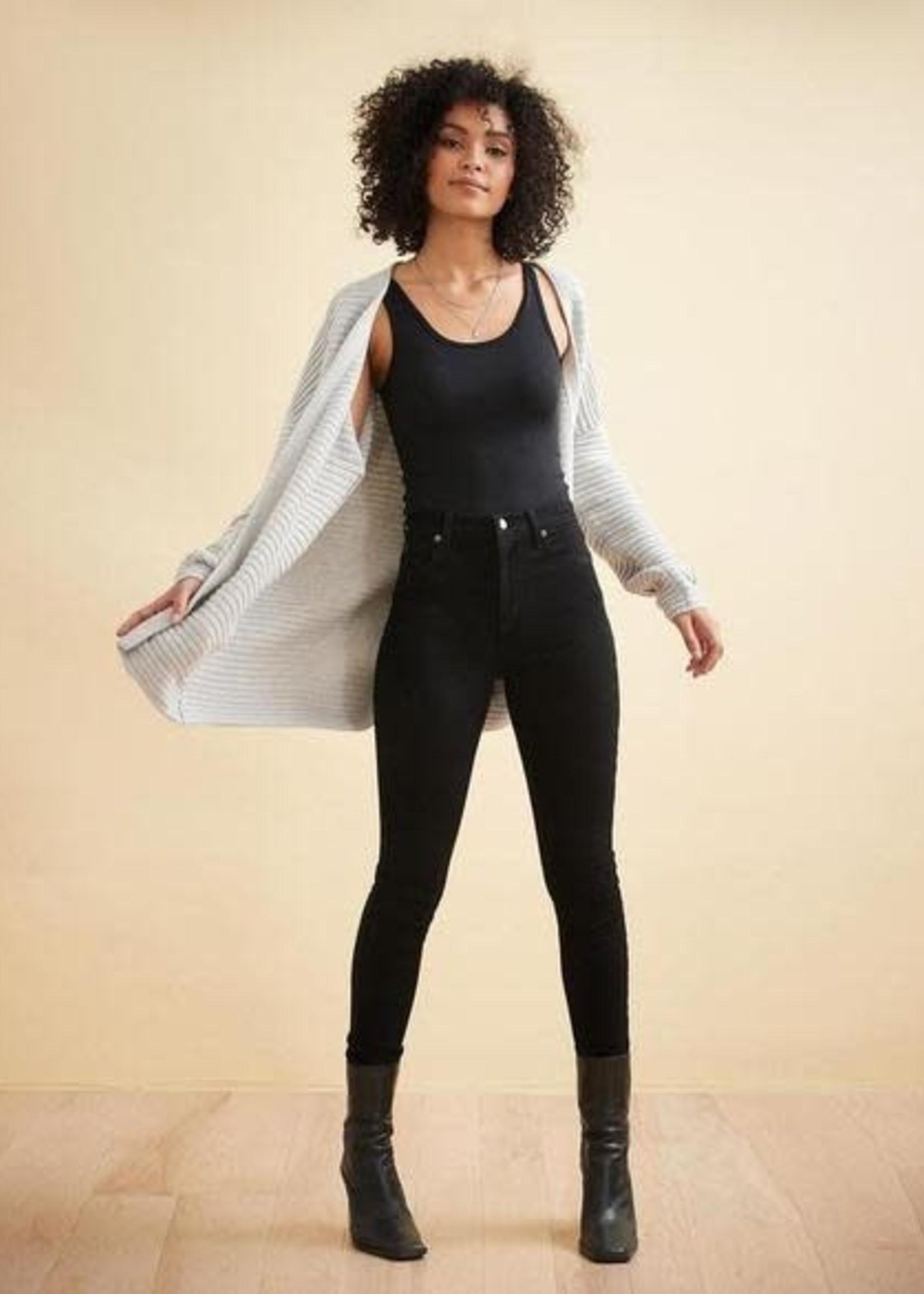"Yoga Jeans Yoga Jeans  Black Rachel Skinny 30"""