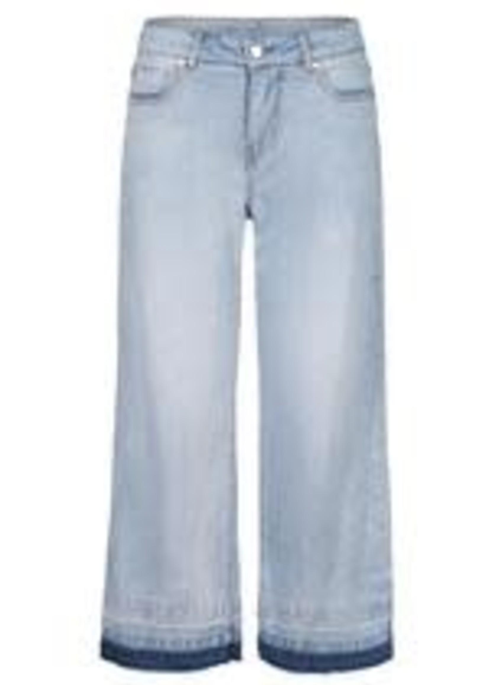 Tribal Tribal Audrey Jeans Wide Leg W/Released Hem