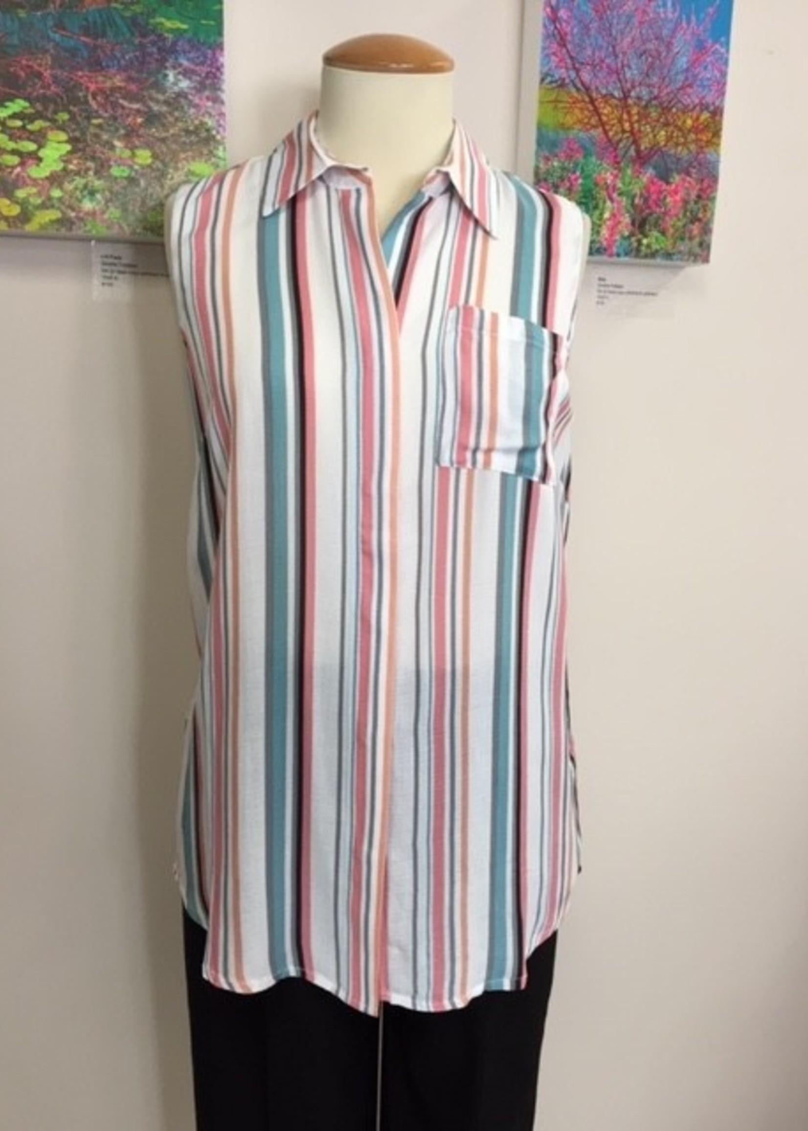 Tribal Tribal Sleeveless Shirt