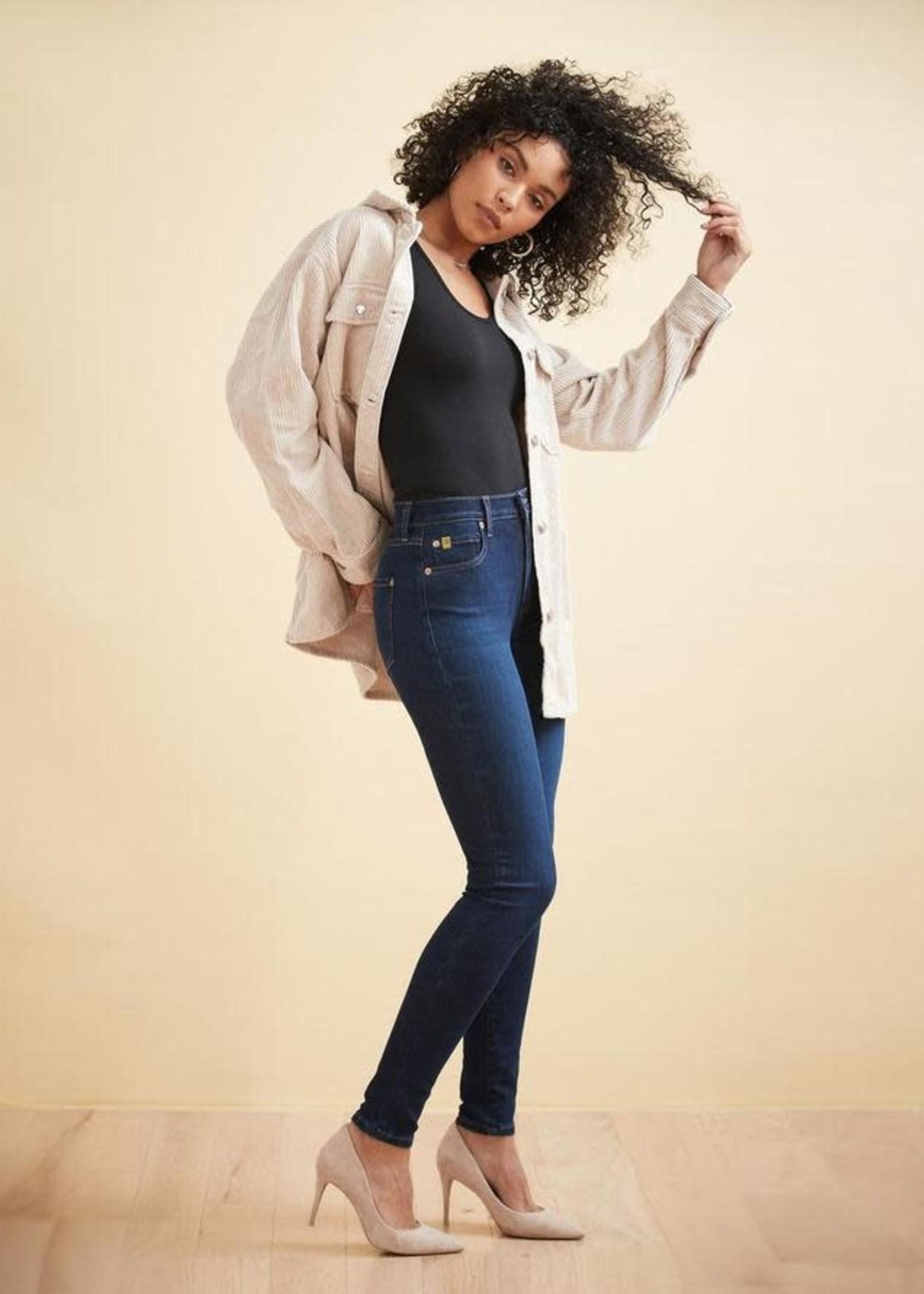 Yoga Jeans Yoga Jeans Rachel  High Rise Indigo Jeans
