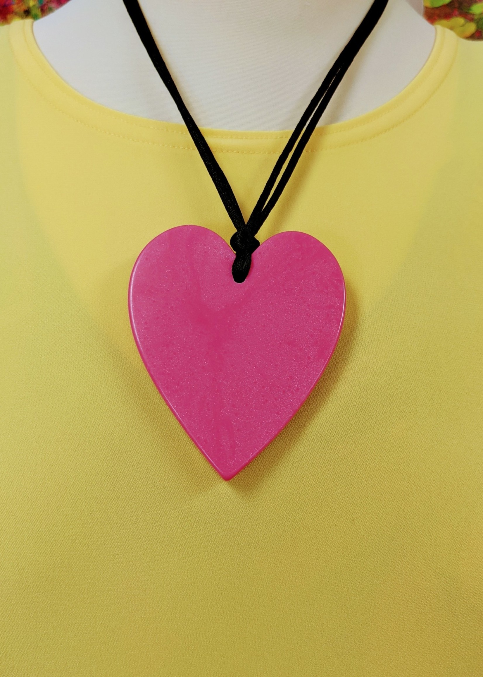 Zsiska Zsiska Large Single Heart Pendant