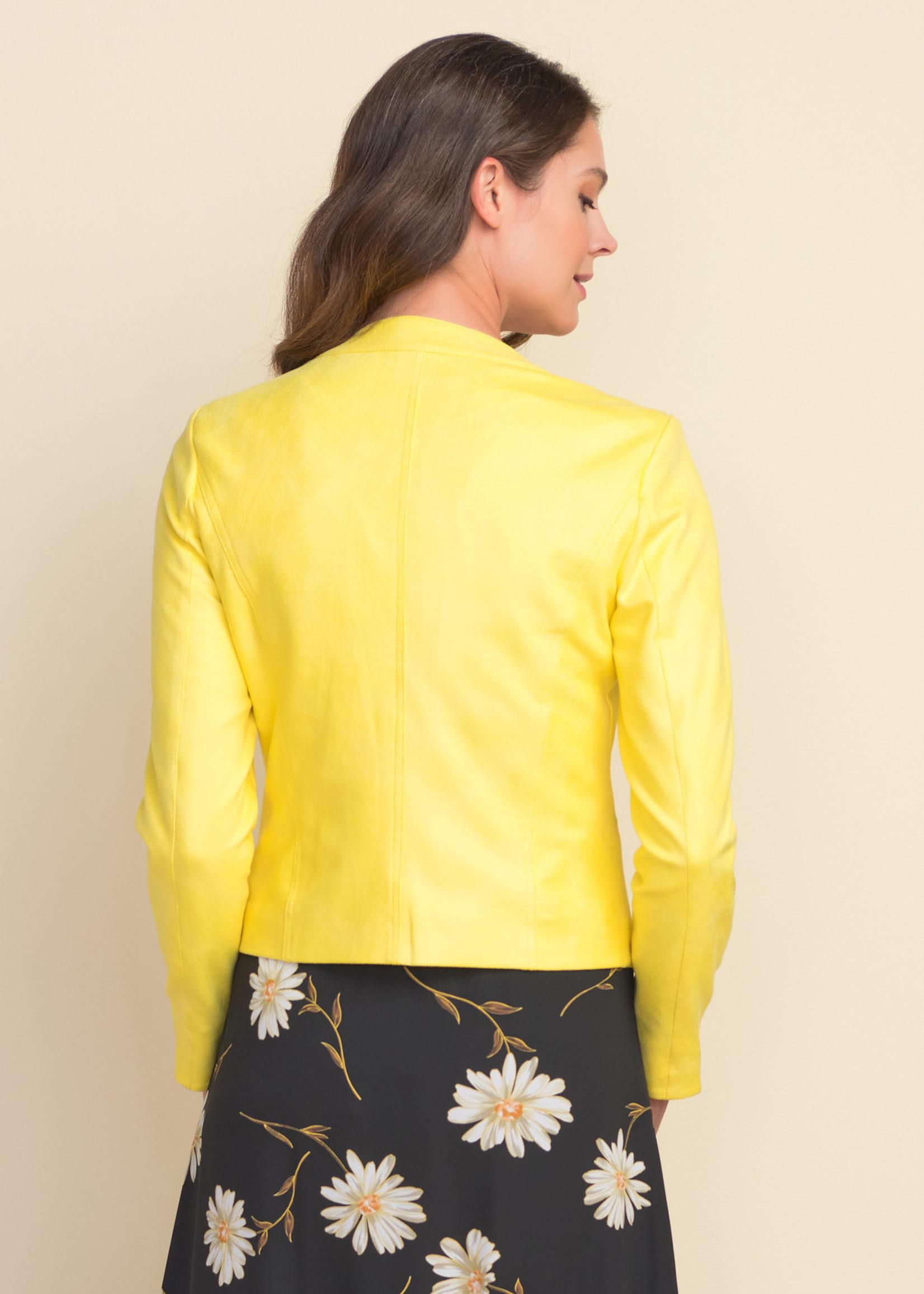 Joseph Ribkoff Joseph Ribkoff Moto Jacket with Grommets