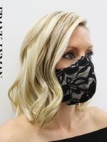 Frank Lyman Fancy Masks Lace
