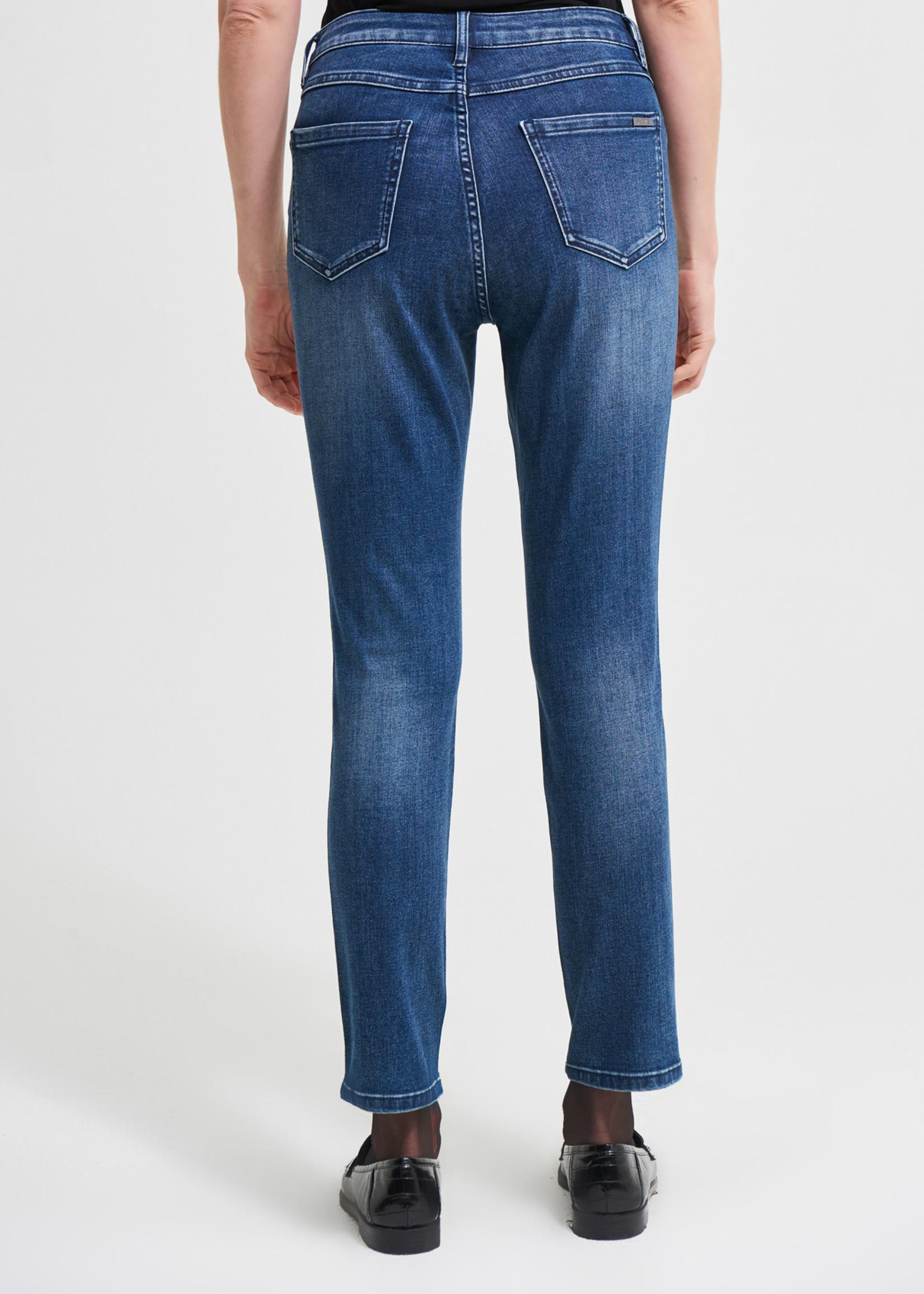 Joseph Ribkoff Joseph Ribkoff Slim Fit Jeans W/face imprint