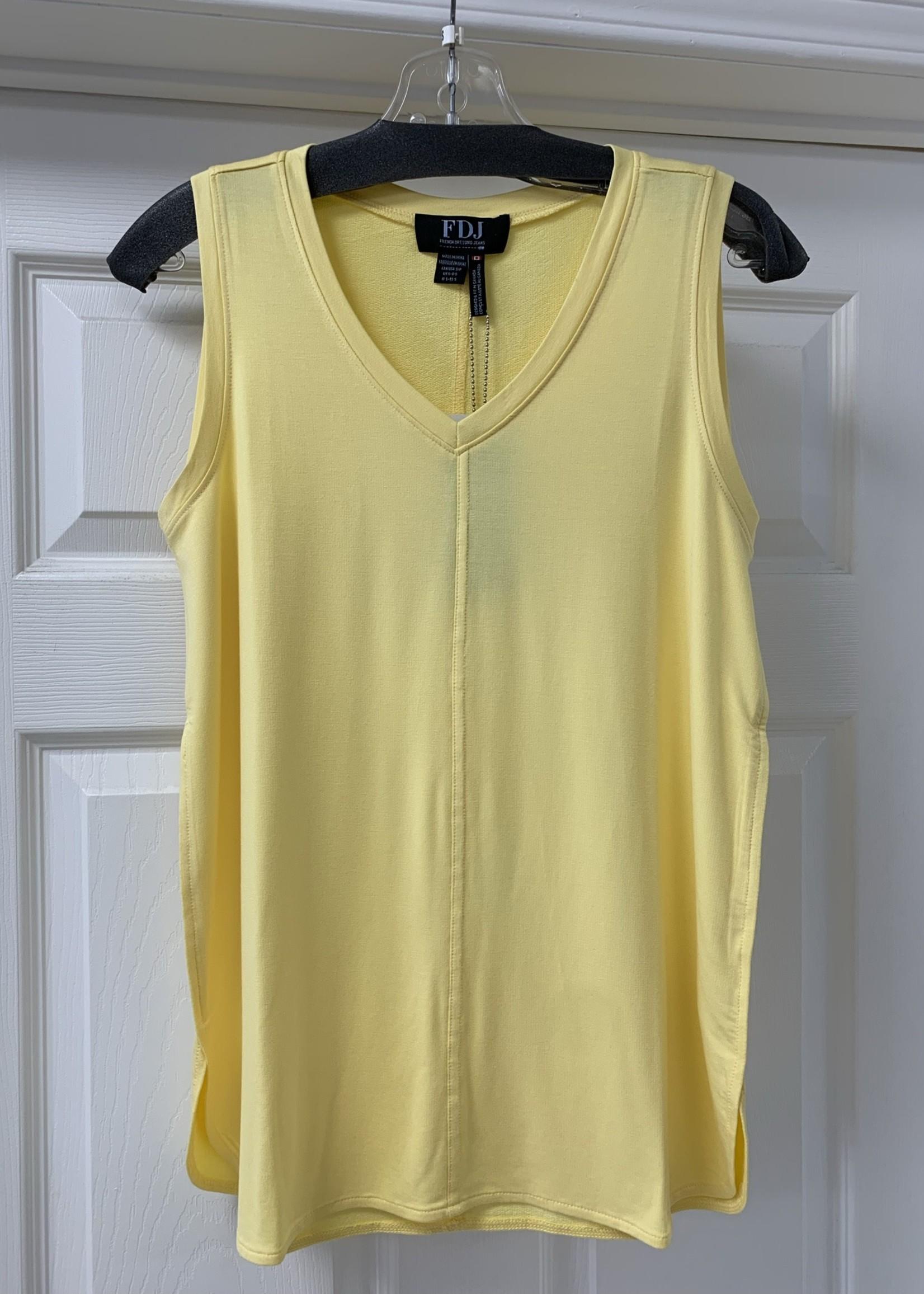 FDJ French Dressing FDJ V-Neck Cami Lemon 1933571