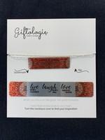 Giftologie Giftologie - Daystar Bar Necklace Set