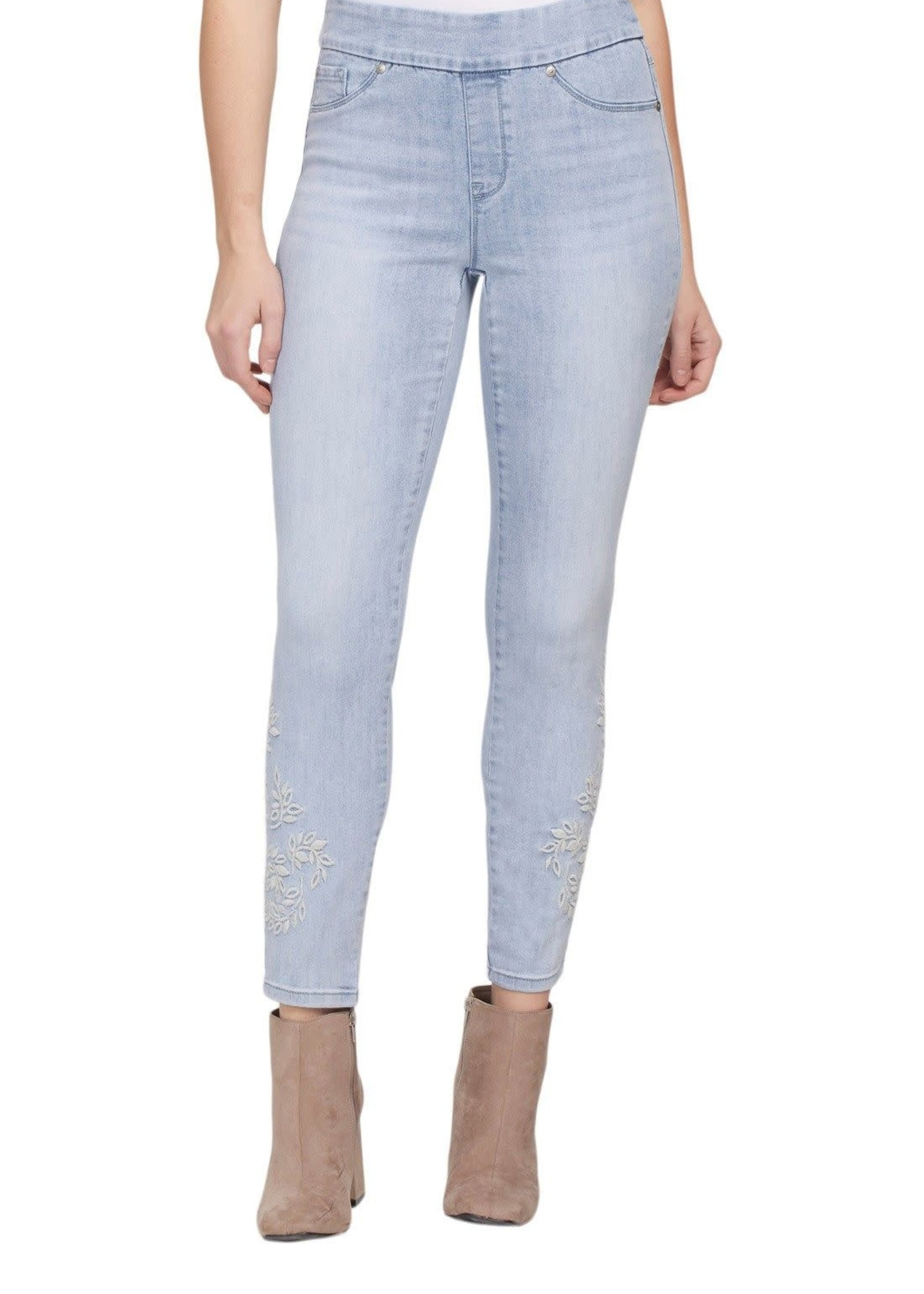 Tribal Tribal Audrey Pull On Jegging w/Embroidery